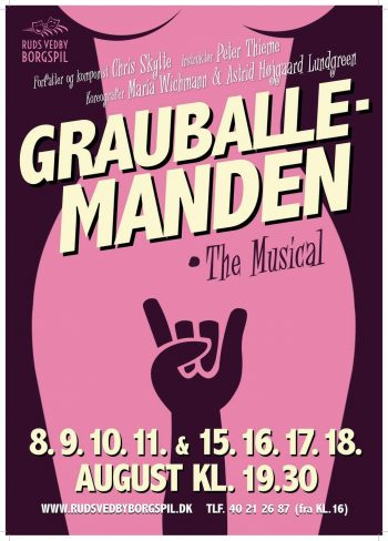 Grauballemanden - The Musical plakat